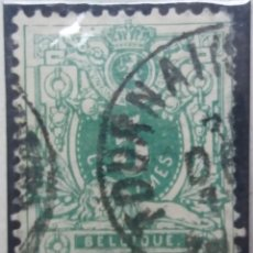 Sellos: SELLO, POSTES BELGICA, 5 CENTIMES, AÑO 1880, NO USADO. Lote 151536858
