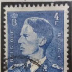 Sellos: SELLO, POSTES BELGICA, 4 FR, REY BALDUINO, AÑO 1936, NO USADO. Lote 151633622