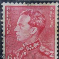 Sellos: SELLO, POSTES BELGICA, 6 FR, REY LEOPOLDO III, AÑO 1935, NO USADO. Lote 151636762