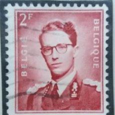 Sellos: SELLO, POSTES BELGICA, 2 FR, REY BALDUINO, AÑO 1935, NO USADO. Lote 151637654