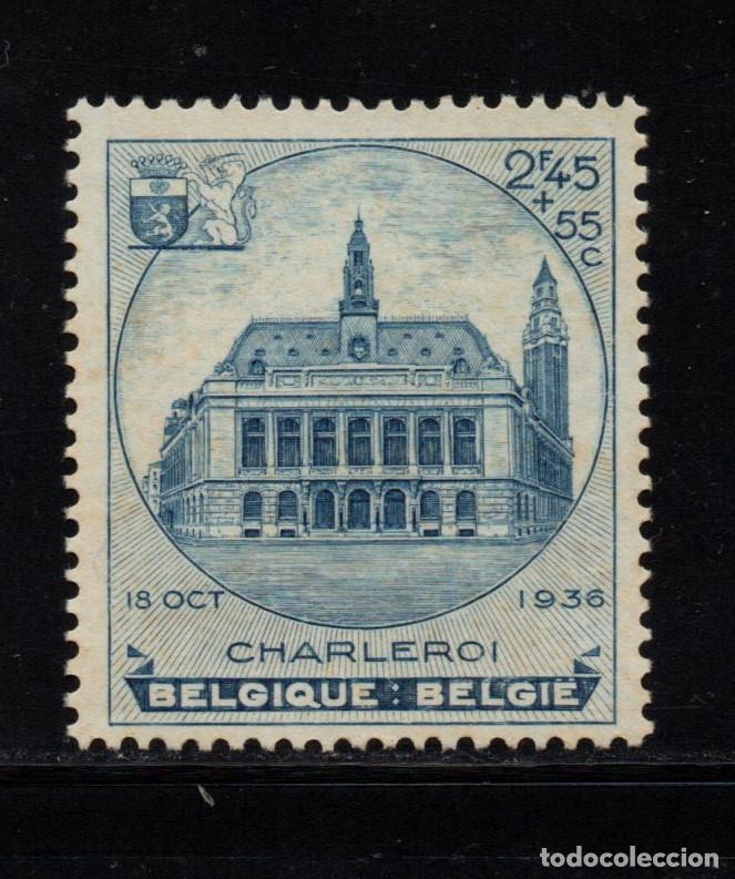 BELGICA 437** - AÑO 1936 - EXPOSICION FILATELICA DE CHARLEROI (Sellos - Extranjero - Europa - Bélgica)