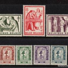 Sellos: BELGICA 998/1004** - AÑO 1956 - PRO OBRAS ANTITUBERCULOSAS. Lote 152768962