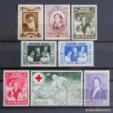 Sellos: BÉLGICA 1939 ~ CRUZ ROJA ~ SERIE NUEVA Y CON FIJASELLO MNH-MH BUENO. Lote 152785454