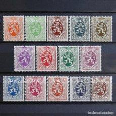 Sellos: BÉLGICA 1929-32 ~ LEÓN ~ SERIE NUEVA MNH BUENO. Lote 153335806
