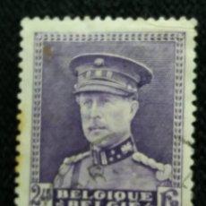 Sellos: SELLO BELGIQUE, 2,45 FR, REY ALBERTO, AÑO 1934.. Lote 153570682
