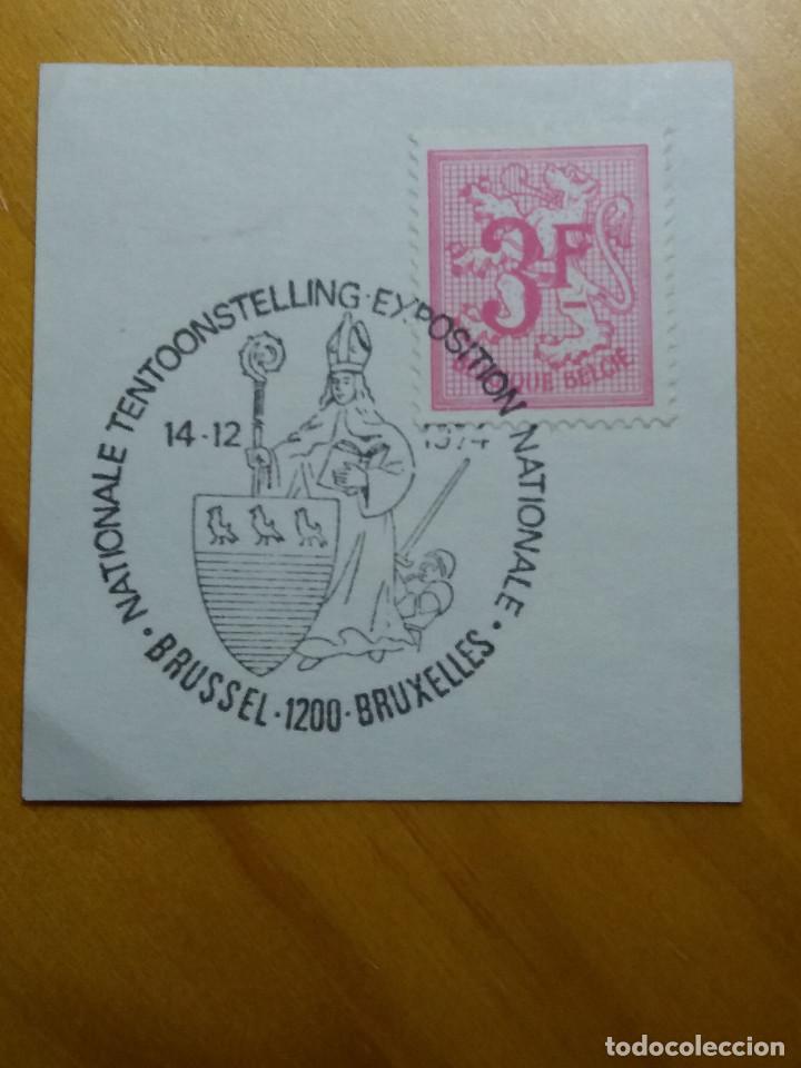 SELLO BELGIQUE, 3 FR, AÑO 1967.CUÑO BRUXELLES. (Sellos - Extranjero - Europa - Bélgica)
