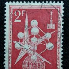 Sellos: SELLO BELGIQUE, 2 FR, EXPOSITTION, AÑO 1958. Lote 153573658