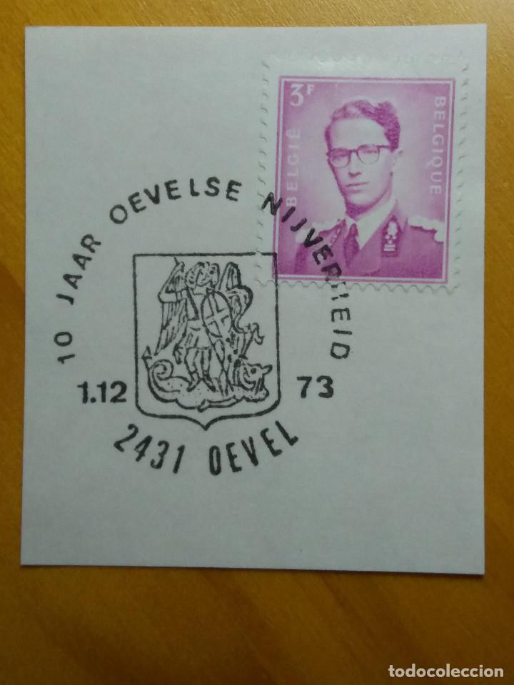 SELLO BELGIQUE, 3 FR, REY BALDUINO, AÑO 1965 (Sellos - Extranjero - Europa - Bélgica)