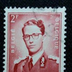 Sellos: SELLO BELGIQUE, 2 FR, REY BALDUINO, AÑO 1958. Lote 153574486