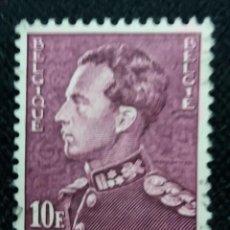 Sellos: SELLO BELGIQUE, 10 FR, REY LEOPOLDO III, AÑO 1963. . Lote 153575754