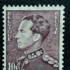 Sellos: SELLO BELGIQUE, 10 FR, REY LEOPOLDO III, AÑO 1963. . Lote 153575942