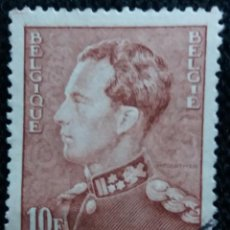 Sellos: SELLO BELGIQUE, 10 FR, REY LEOPOLDSO III, AÑO 1936. . Lote 153577582