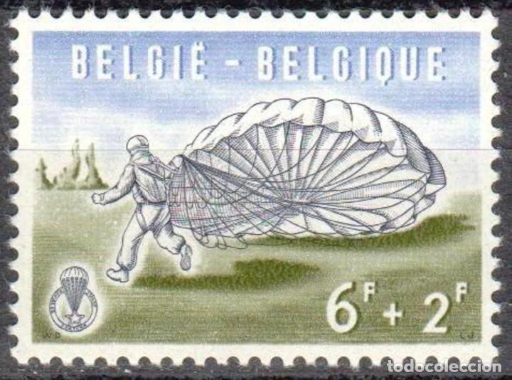 Sellos: BELGICA - UNA SERIE IVERT 1133/1138 ***SALTOS EN PARACAIDAS*** - AÑO 1960 - NUEVOS GOMA ORIGINAL - Foto 7 - 156881306