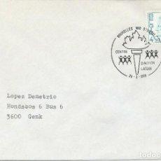 Sellos: 1979. BÉLGICA/BELGIUM. MATASELLOS/POSTMARK. CENTRO DE ACCIÓN LAICA. BENEFICENCIA/CHARITY.. Lote 159949214