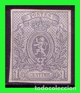1866 BÉLGICA, ESCUDOS, IVERT Nº 22 (*) (Sellos - Extranjero - Europa - Bélgica)
