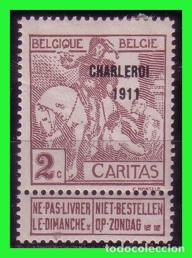 1910 BÉLGICA, EXPOSICIÓN DE ARTE BELGA DEL SIGLO XVII EN BRUSELAS, IVERT Nº 94 * (Sellos - Extranjero - Europa - Bélgica)