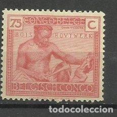 Sellos: CONGO BELGA 1925- SELLO NUEVO CON FIJASELLO. Lote 162606082