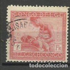 Sellos: CONGO BELGA 1925 SELLO USADO. Lote 162606798