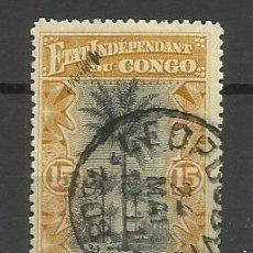 Timbres: CONGO BELGA SELLO USADO 1915 - . Lote 162619434