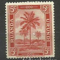 Timbres: CONGO BELGA SELLO NUEVO * 1942 - . Lote 162622866