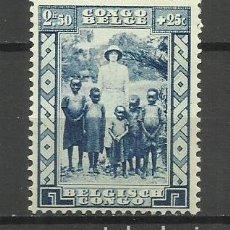 Sellos: CONGO BELGA SELLO NUEVO ** 1936 - . Lote 162624622