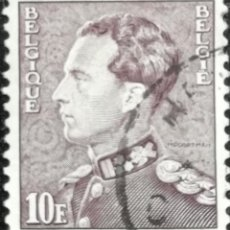 Sellos: 1936. HISTORIA. BÉLGICA. 434-A. RETRATO DEL REY LEOPOLDO III. SERIE CORTA. USADO.. Lote 168075440