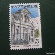 Sellos: BELGICA, 1992 ANDENNE. Lote 168435124