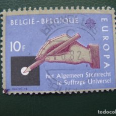 Sellos: BELGICA, 1982 EUROPA. Lote 168435592