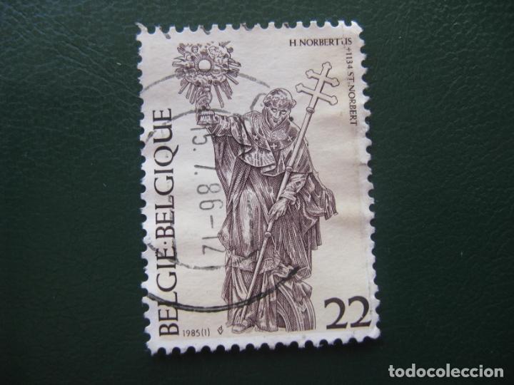 BELGICA, 1985 SAN NORBERTO (Sellos - Extranjero - Europa - Bélgica)