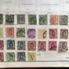 Sellos: SELLOS BELGICA AÑO 1869 1900 1936. Lote 170305898