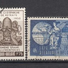 Timbres: BELGICA, 1949 - 1950 YVERT Nº 811, 812, 813, 826 . Lote 171633145