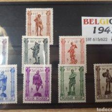 Sellos: SELLOS DE BELGICA 1943 LOT.N.734. Lote 172030230