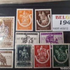 Sellos: SELLOS DE BELGICA AÑO 1942 LOT.N.748. Lote 172031990