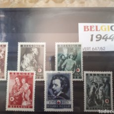 Sellos: SELLOS DE BELGICA AÑO 1944 LOT.N.760. Lote 172080360