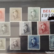 Sellos: SELLOS DE BELGICA AÑO 1919 LOT.N. 1042. Lote 172654548