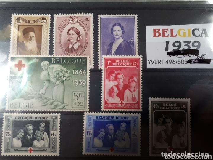 SELLOS DE BELGICA AÑO 1939 LOT.N.1074 (Sellos - Extranjero - Europa - Bélgica)