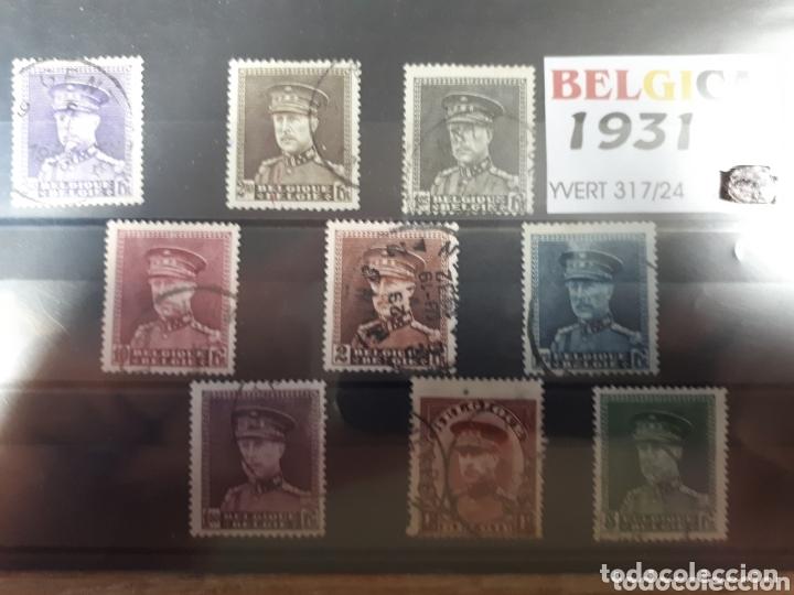 SELLOS DE BELGICA AÑO 1931 LOT.N.1075 (Sellos - Extranjero - Europa - Bélgica)