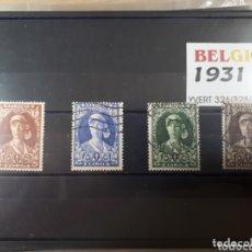 Sellos: SELLOS DE BELGICA AÑO 1931 LOT.N.1075. Lote 172722683