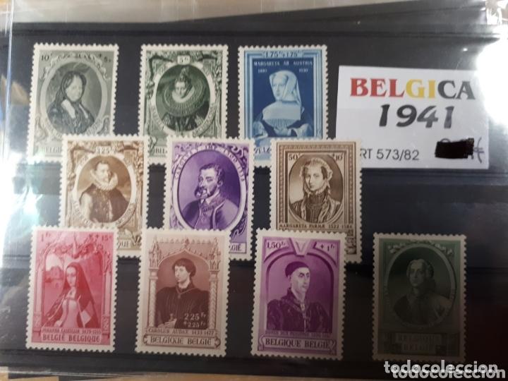 SELLOS DE BELGICA AÑO 1941 LOT.N.1077 (Sellos - Extranjero - Europa - Bélgica)