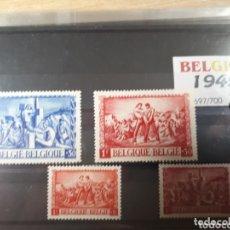 Sellos: SELLOS DE BELGICA AÑO 1945 LOT.N.1078. Lote 172722799