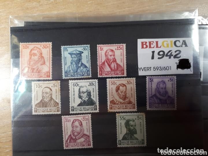 SELLOS DE BELGICA AÑO 1942 LOT.N.1080 (Sellos - Extranjero - Europa - Bélgica)