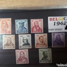 Sellos: SELLOS DE BELGICA AÑO 1942 LOT.N.1080. Lote 172723122