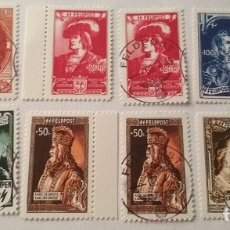 Sellos: UNIDADES DE VOLUNTARIOS BELGAS EN LAS WAFFEN-SS , AGOSTO 1943. ( COPIA ). Lote 173397752