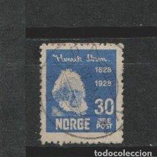 Sellos: LOTE G SELLOS SELLO NORUEGA AÑO 1928 UNOS 12 EUROS CATALOGO. Lote 174580277