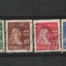 Sellos: LOTE G SELLOS NORUEGA AÑO 1934 SERIE COMPLETA. Lote 174580429