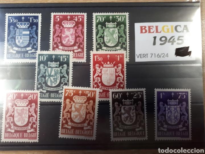 SELLOS DE BELGICA AÑO 1945 LOT.N.10011 (Sellos - Extranjero - Europa - Bélgica)