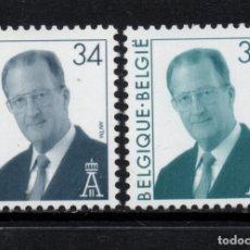 Sellos: BELGICA 2685/86** - AÑO 1997 - REY ALBERTO II. Lote 177595702