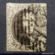 Sellos: BÉLGICA 1951 ~ REY LEOPOLDO I • CON FILIGRANA ~ SELLO USADO. Lote 177605960