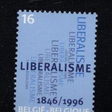 Sellos: BELGICA 2627** - AÑO 1996 - 150º ANIVERSARIO DEL PARTIDO LIBERAL. Lote 177896325
