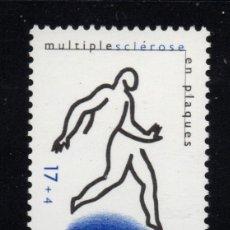 Sellos: BELGICA 2730** - AÑO 1997 - SOLIDARIDAD - LA ESCLEROSIS. Lote 177897027